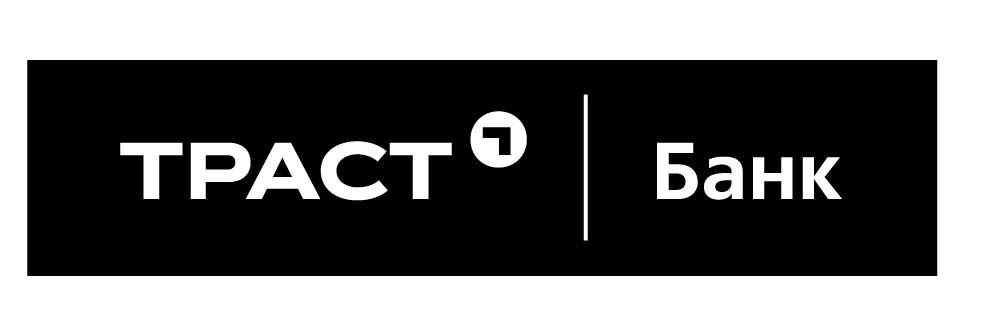 """Логотип банку """"Траст"""""""