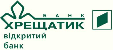 "Логотип банку ""Хрещатик"""