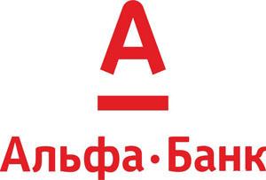 Логотип Альфа-Банку